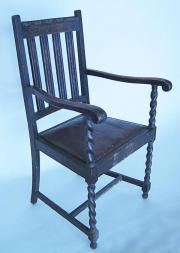 Stühle aus Volleiche -Mooreiche Antik