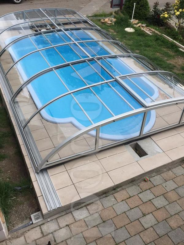 Fabulous Swimming Pool Überdachung Schwimmbecken Abdeckung In Berlin XW32