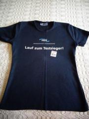 T - Shirt mit Aufdruck Werbung