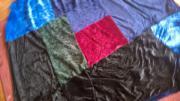 Tagesdecke aus farbigem