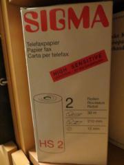 Telefaxpapier von SIGMA