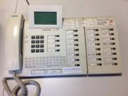 Telefon-Anlage aus