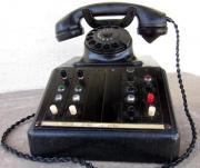 Telefon Vermittlungsapparat Bakelit 50er Jahre -