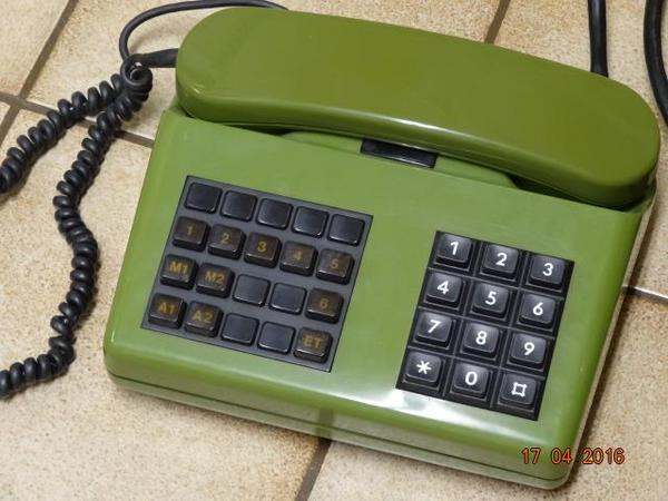 Telefon von 1978 mit Tastatur