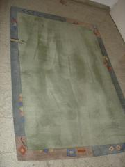 Teppich, Farbe grün