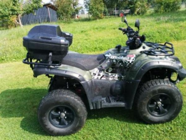 tgb blade 500 4x4 irs lof quad atv in halle quads atv. Black Bedroom Furniture Sets. Home Design Ideas
