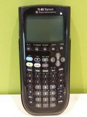TI 89 Titanium - Programmierbarer Taschenrechner