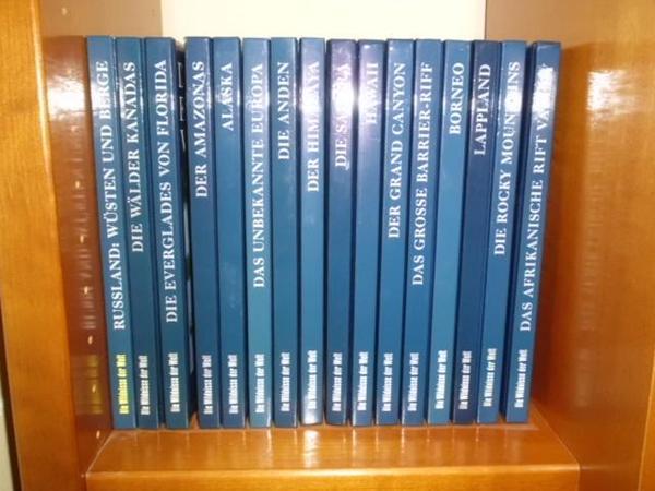 """Time Life Bildbände über """"die Wildnisse der Welt"""" - Lautersheim - Biete insgesamt 16 veschiedene Time Life Bildbände: Die Wildnisse der Welt.Die Bücher haben je ca. 200 Seiten und sind fest gebunden. Jedes Buch zeichnet sich durch viele wunderschöne Farbfotos, Hintergrundinformationen und Karten aus. Fo - Lautersheim"""