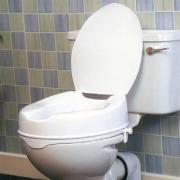 Toilettensitzerhöhung 10 cm,