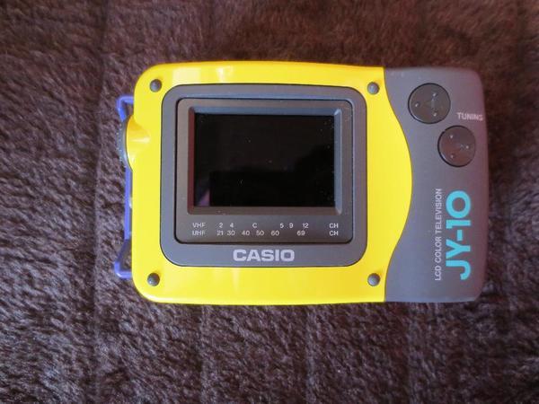 Toller Vitage Casiofernsehgerät - Schifferstadt - toller Casio Modell IY-10N in top Zustand siehe Bilder für analoge Signale.es ist ein portabler 2,3 Zoll LCD Fernseher von 1998,für Sammler und Liebhaber alter Technik Versand möglich - Schifferstadt
