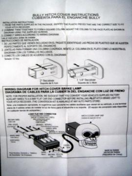 Totenkopf AHK Abdeckung mit Bremslicht: Kleinanzeigen aus München - Rubrik Sonstiges Zubehör