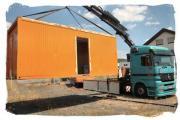 TRANSPORTE Container, Maschinen,