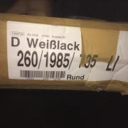 Türzarge / Türrahmen Weißlack
