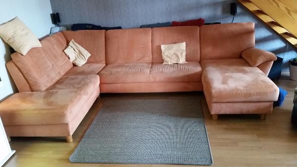 Wohnlandschaft form neu und gebraucht kaufen bei for Sofa u form mit bettfunktion