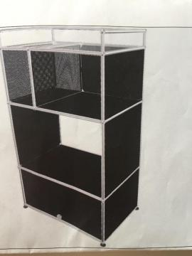 usm haller original tv hi fi m bel. Black Bedroom Furniture Sets. Home Design Ideas