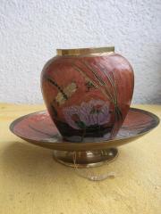 Vase-Teller-Set: