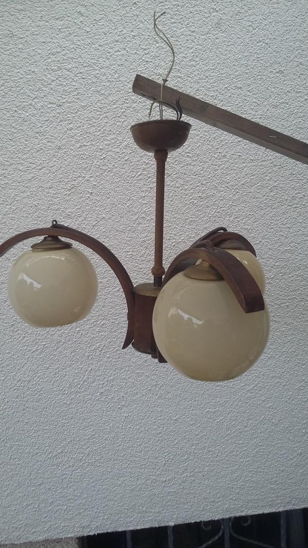 Verkaufe eine alte nostalgische Lampe