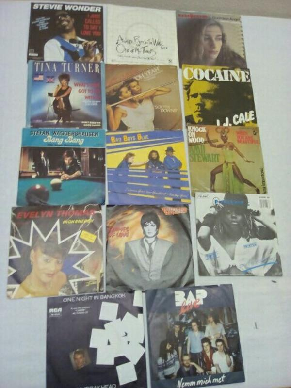 verkaufe Schallplatten