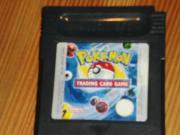 Verschiedene ältere Gameboy-Spiele Pokemon Kartenspiel