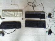 verschiedene Tastaturen & PC-