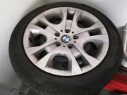 Vier Winterreifen BMW