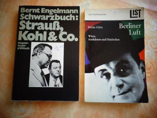 Vintage - Bücher Strauß Kohl und