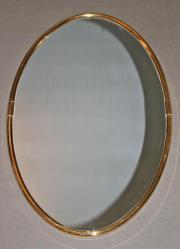 Vintage Spiegel oval