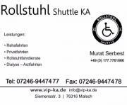VIP-Shuttle Rollstuhl Shuttle -Rollstuhlfarten Krankfenfahrten