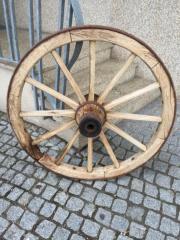 Wagenrad Antik für Hauswand oder