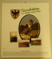 Wandkalender Sinsheim in Wald und