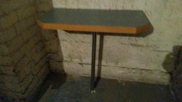 Wandtisch für Küche anschraubbar mit Mittelfuß in Berlin ...