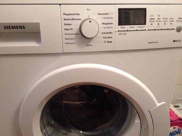 Waschmaschine varioperfect