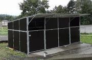 Weidehütten / Außenboxen als