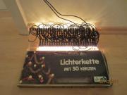 Weihnachtslichterkette 50 Lichter neu