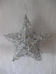 Weihnachtsstern zum Aufhängen