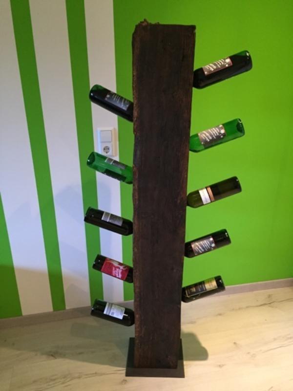 Weinständer Eichenbalken in Sinzheim - Dekoartikel kaufen und ...