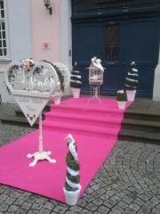 Weiße Hochzeitstauben Düsseldorf-