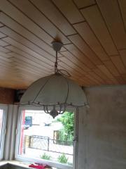 Weiße Lampe