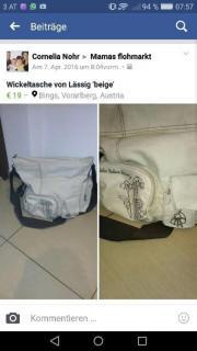 Wickeltasche von Lässig