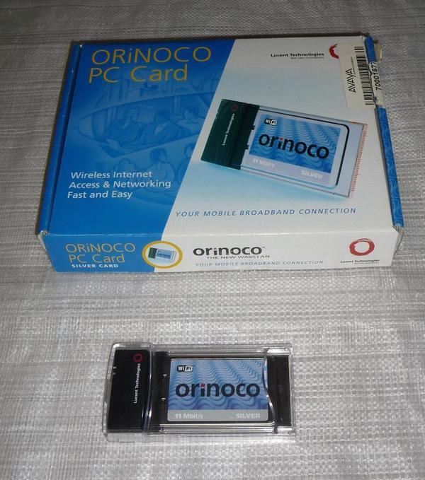 Wireless LAN Card Orinoco PC