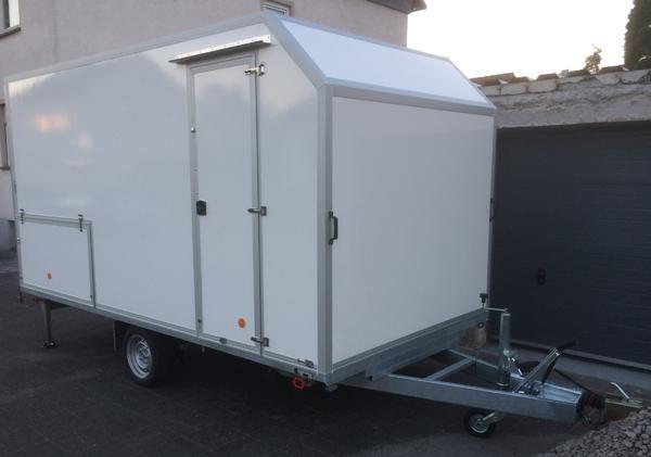 wohnkoffer kart anh nger food truck imbiss kaufladen in. Black Bedroom Furniture Sets. Home Design Ideas