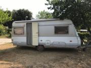 Wohnwagen in Istrien