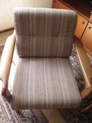 wohnzimmer sitzgarnitur mit sofa, 2 sessel und fließentisch in