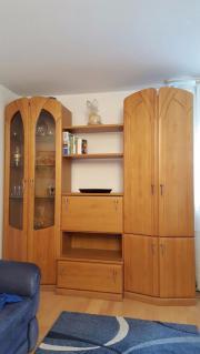 Wohnzimmer - Wohnwand, Vitrine,
