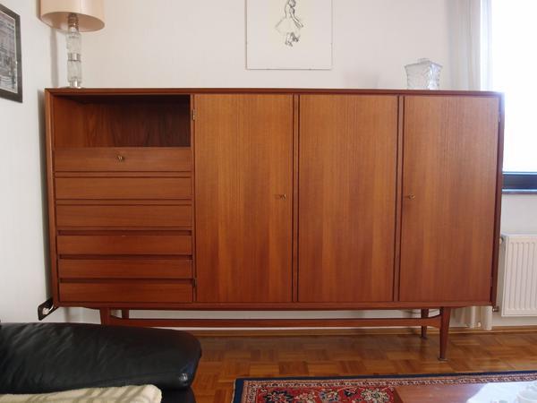 Wohnzimmerschrank 60Er Jahre gebraucht kaufen! 2 St. bis ...